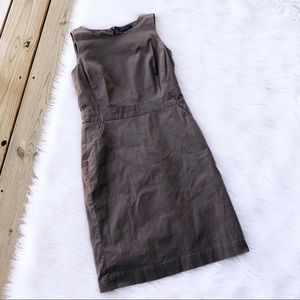 Banana Republic Brown Knee Length Sheath Dress